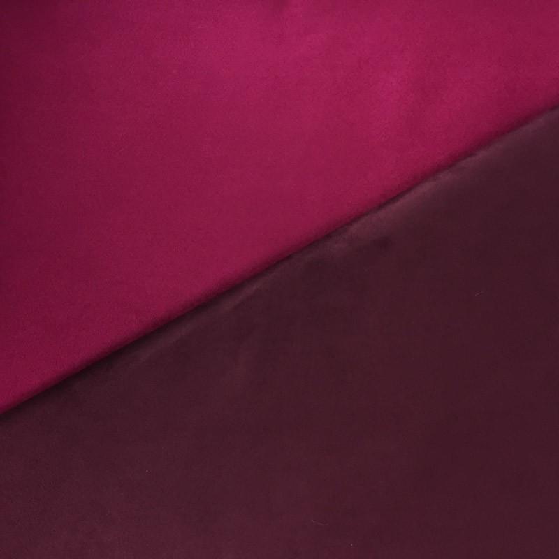 Su dine fuchsia amethyste rose par 10cm - Tissu ameublement au metre ...