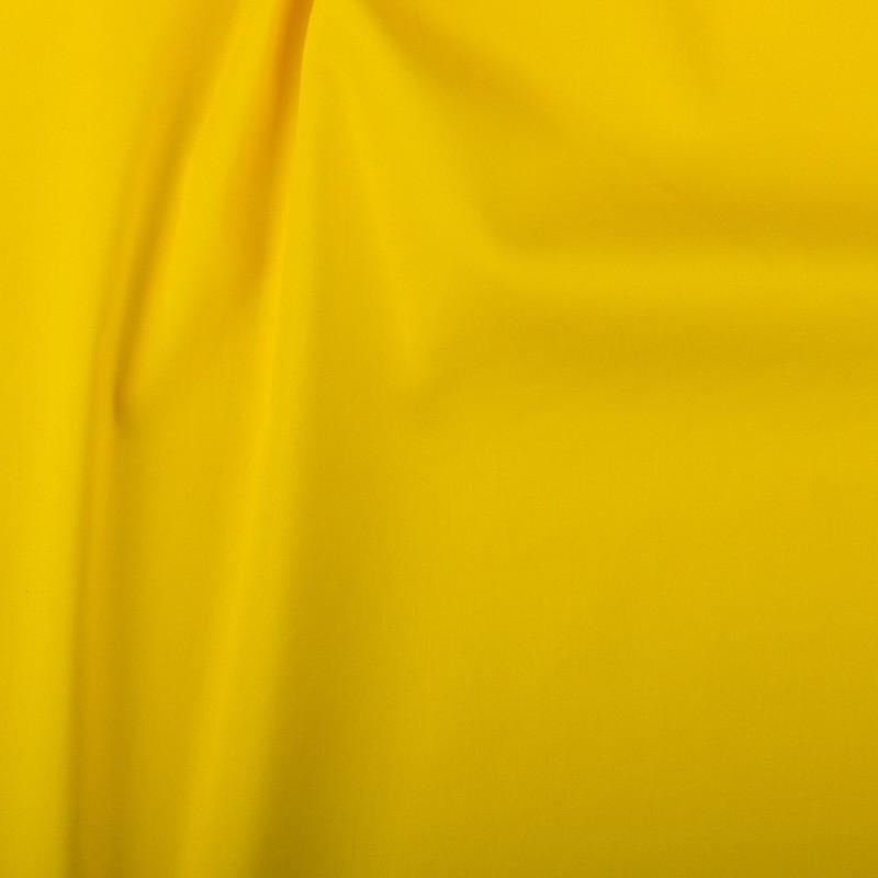 satin de coton jaune par 10cm. Black Bedroom Furniture Sets. Home Design Ideas
