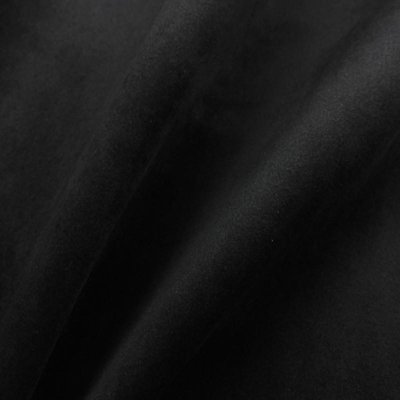 tissu velours ameublement noir. Black Bedroom Furniture Sets. Home Design Ideas