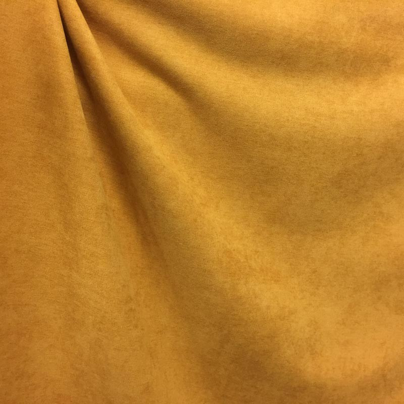 tissu rideau occultant souple alaska jaune moutarde mercerine. Black Bedroom Furniture Sets. Home Design Ideas