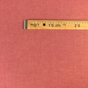 Tissu à chemise rouge/blanc   - mètre - Mercerine