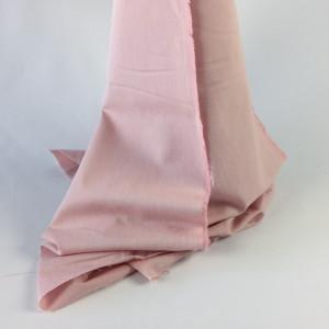 Tissu à chemise rose   - tombé - Mercerine