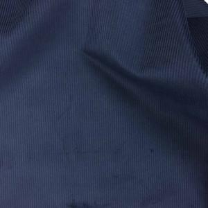Velours cotes moyenne bleu marine - 10cm