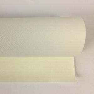 Tissus simili cuir blanc au rouleau - Mercerine.com