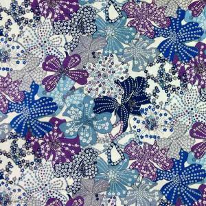 Coton Liberty MAUVEY violet - Mercerine