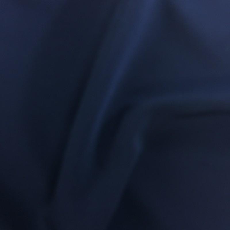 Tissu crêpe bleu marine pas cher - Mercerine tissus en ligne