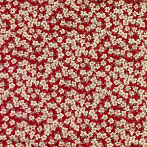Coton Liberty FFION rose fuschia - Mercerine.com
