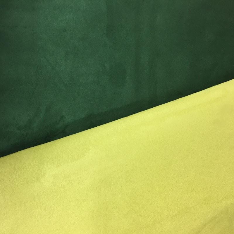 Su dine vert sapin anis volteface par 10cm - Tissu ameublement au metre ...