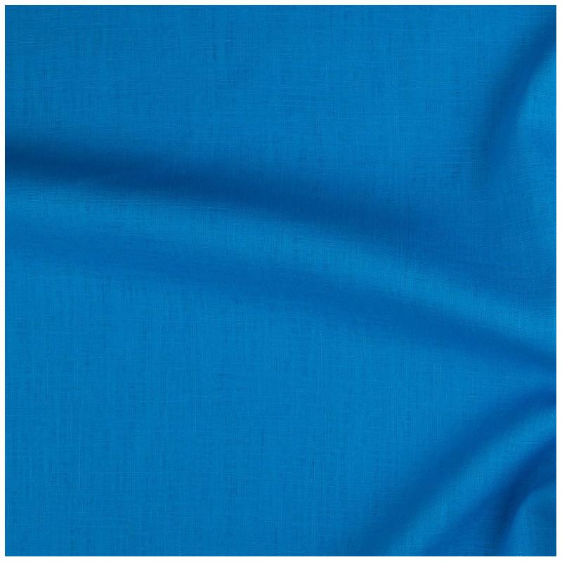 lin pais bleu cobalt au m tre par 10cm. Black Bedroom Furniture Sets. Home Design Ideas