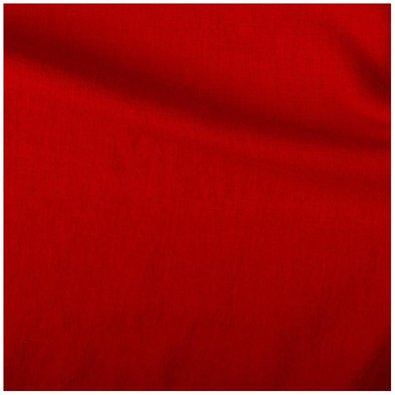 lin pais rouge au m tre par 10cm. Black Bedroom Furniture Sets. Home Design Ideas