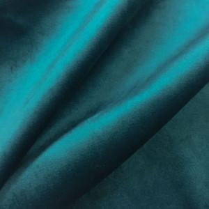 tissu velours ameublement bleu canard. Black Bedroom Furniture Sets. Home Design Ideas