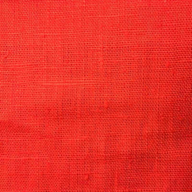 tissu lin lav corail toile par 10cm. Black Bedroom Furniture Sets. Home Design Ideas