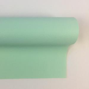 Tissus pas cher simili cuir vert riviera Mercerine.com