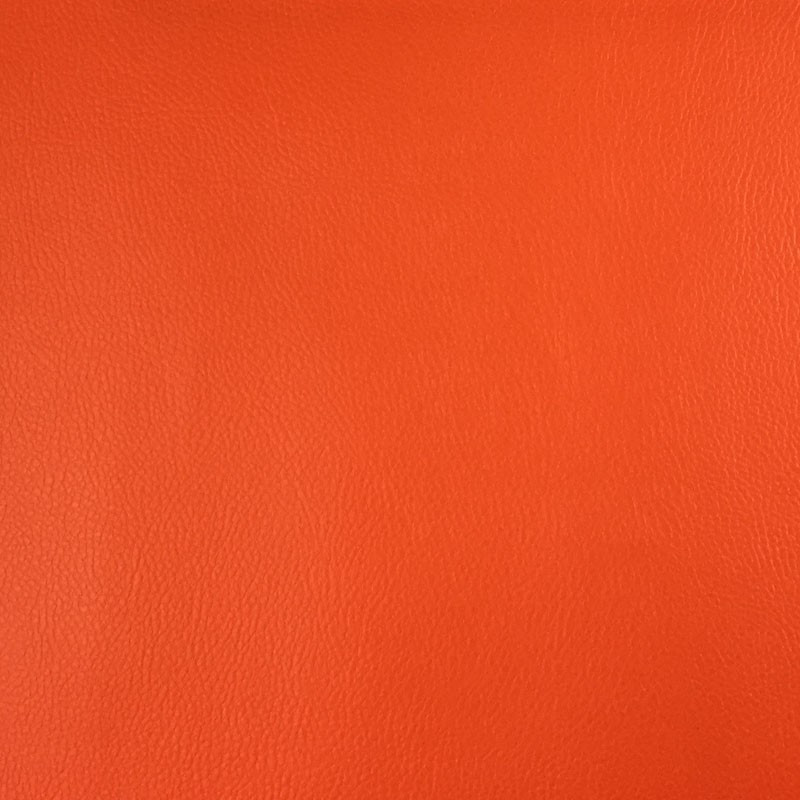 Tissus simili cuir orange pas cher - Mercerine.com