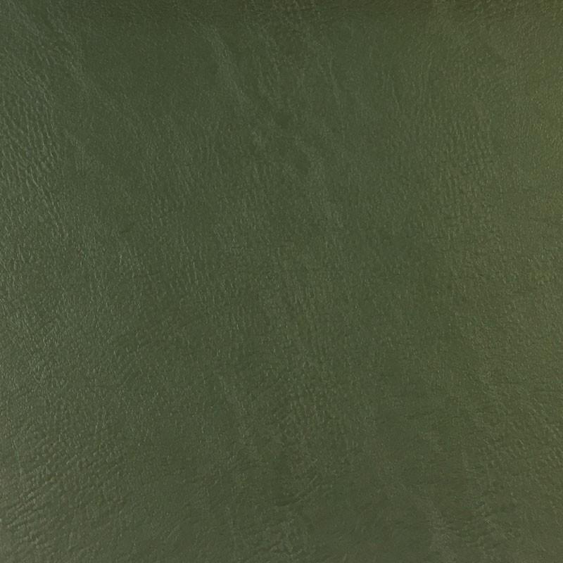Tissu simili cuir vert foncé - Mercerine.com