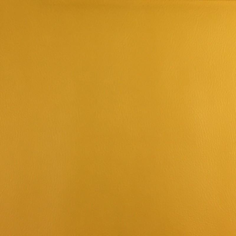 Tissus simili cuir jaune - Mercerine - Tombé
