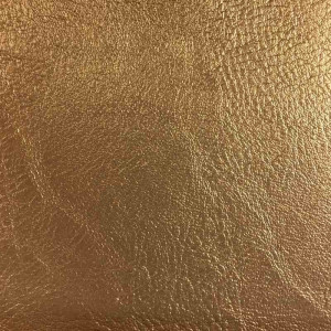 Simili cuir Or qualité siège au mètre - Mercerine.com