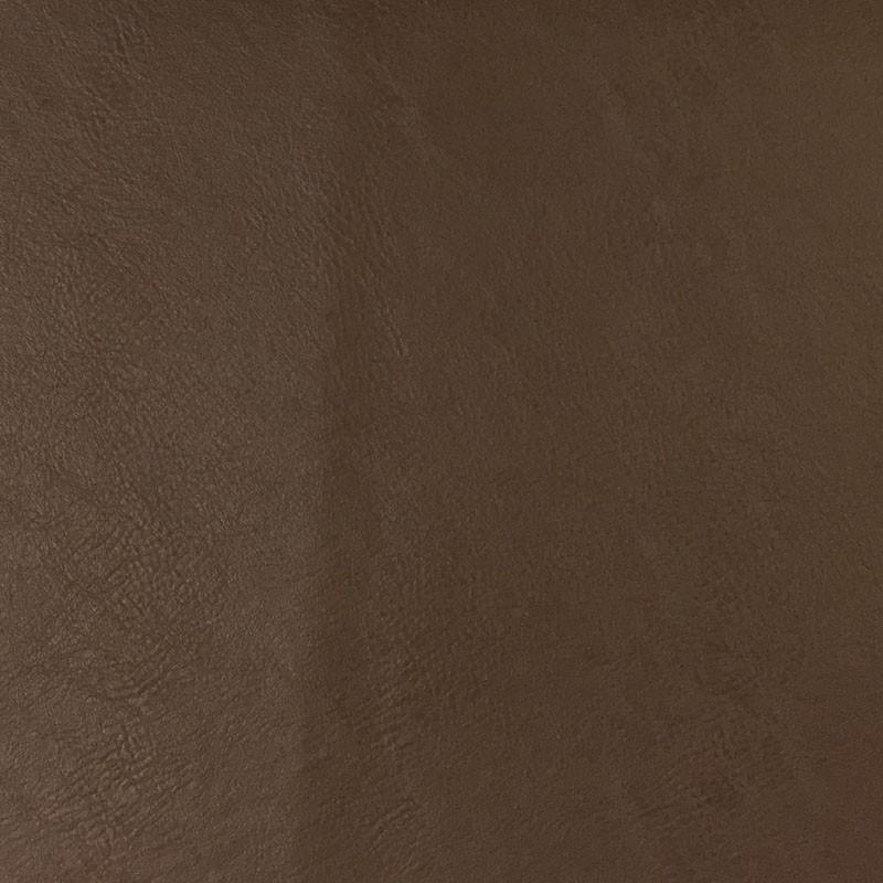 Tissu simili cuir marron qualité siège au mètre - Mercerine.com