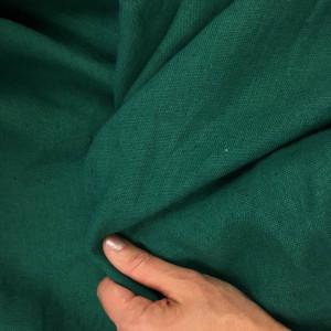 tissu lin lav vert d 39 islande par 10cm. Black Bedroom Furniture Sets. Home Design Ideas