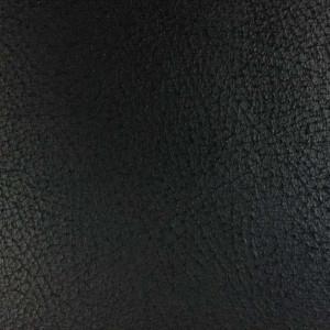 Tissu cuir noir au mètre - rouleau de tissu simili cuir - Mercerine.com