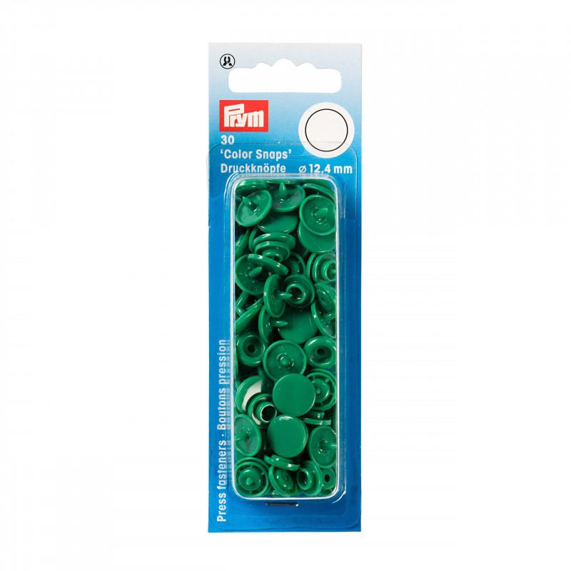 bouton pression color snaps vert herbe. Black Bedroom Furniture Sets. Home Design Ideas