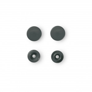bouton pression color snaps gris fonc. Black Bedroom Furniture Sets. Home Design Ideas