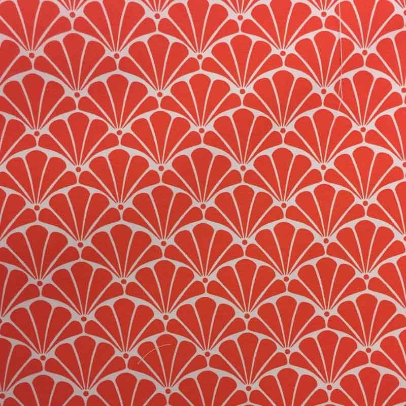 toile ext rieur loko coquillage orange x10cm. Black Bedroom Furniture Sets. Home Design Ideas