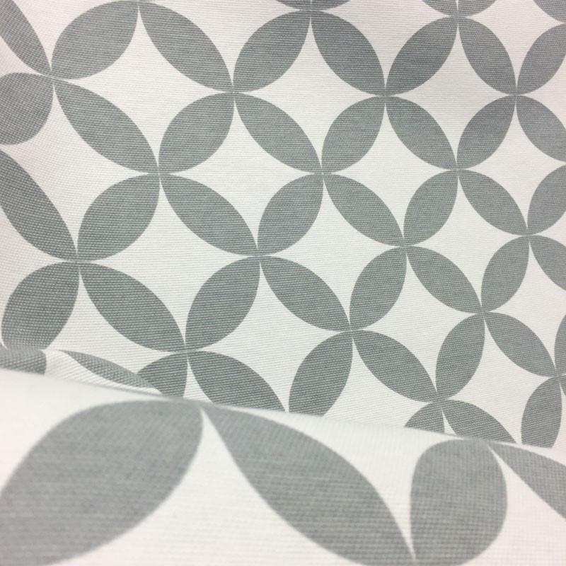 toile ext rieur loko rosaces gris x10cm. Black Bedroom Furniture Sets. Home Design Ideas