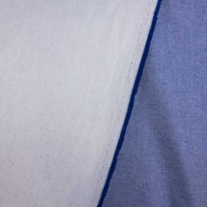 Légère jeans tissu coton élastique gris foncé vêtements robes au mètre