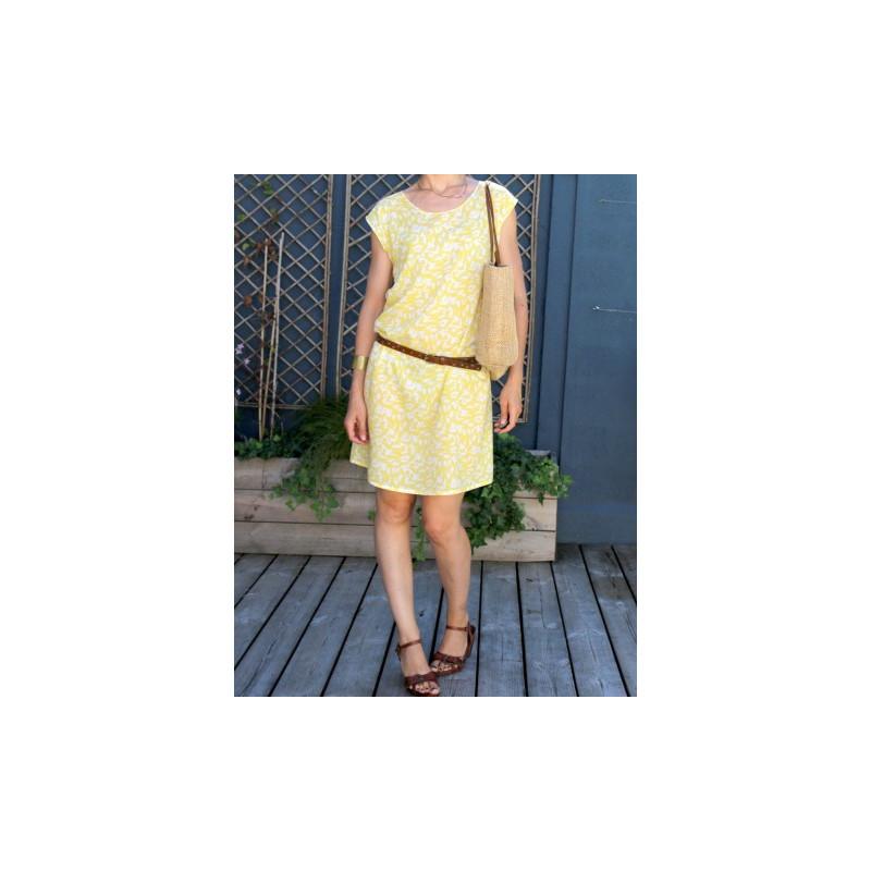 f27e6fe67f0ee Patron blouse robe femme Tokyo - Atelier Scammit