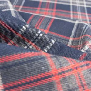 Achat tissu au mètre imprimé écossais - Mercerine.com - zoom