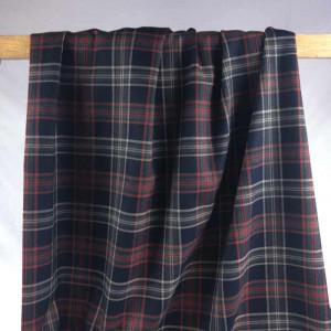 Achat tissu au mètre imprimé écossais - Mercerine.com - tombé