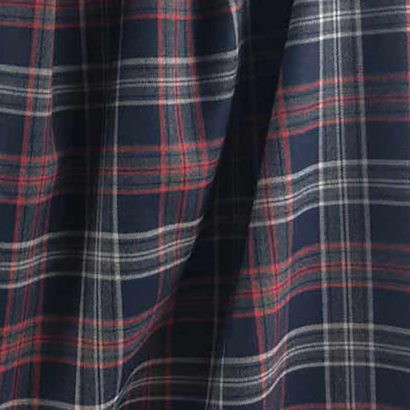 Achat tissu au mètre imprimé écossais - Mercerine.com