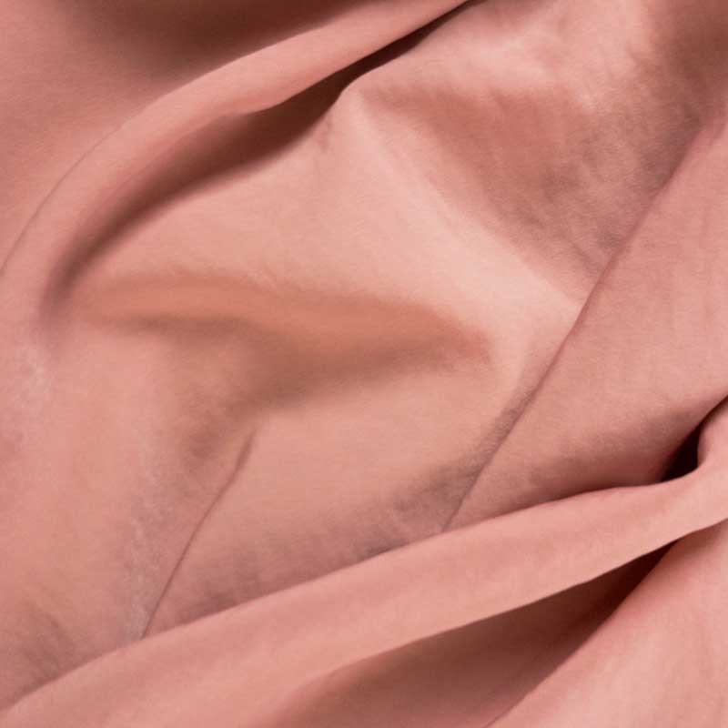 Tissu effet soie lavée rose nude - Mercerine, tissus au mètre et mercerie