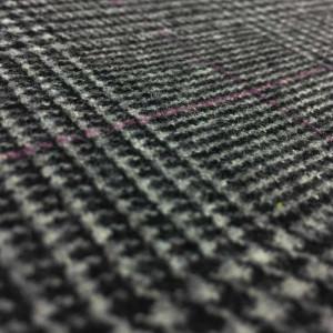tissu manteau prince de galles x10cm. Black Bedroom Furniture Sets. Home Design Ideas