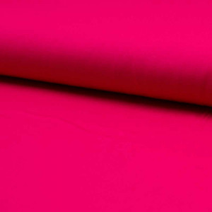 Popeline de coton fuchsia x10cm