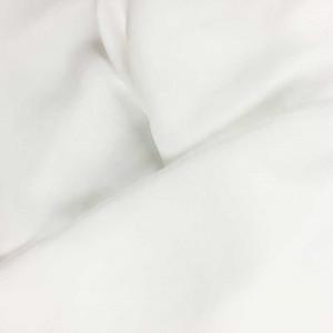 Tissu satiné blanc - par 10cm