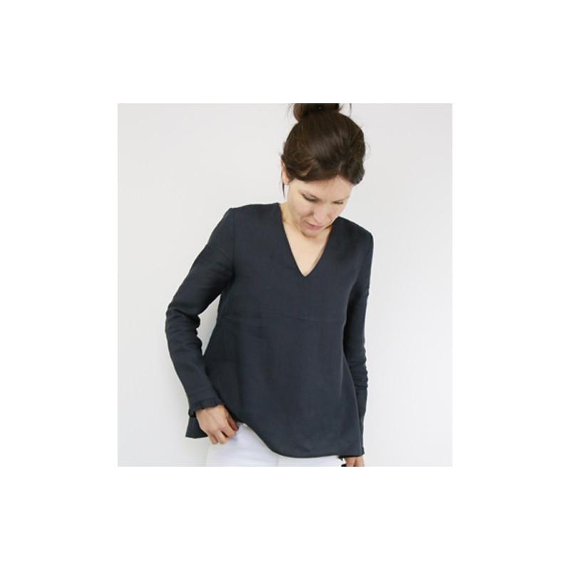 Patron de blouse femme Zephir - Atelier Scammit - Mercerine.com