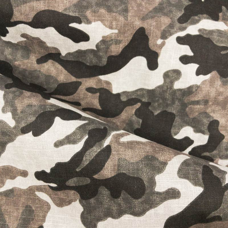 Camouflage Gris Tissu Camouflage Camouflage Coton Gris Tissu Coton Tissu X10cm X10cm TFKc1lJ