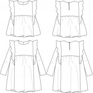 Robe Stella Pour Fille De 3 A 12 Ans Ikatee Mercerine