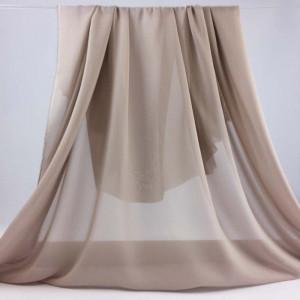 voile de soie gris taupe clair saskia x10cm. Black Bedroom Furniture Sets. Home Design Ideas