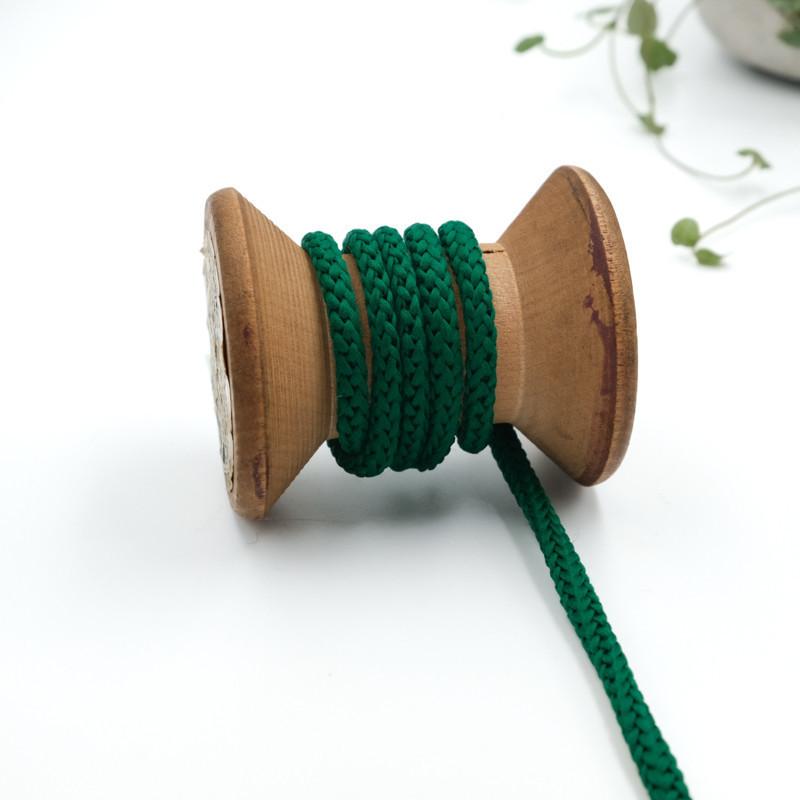 cordon-tricote-au-metre-cordon-rond-au-metre-lacet-au-metre-066-vert-fonce