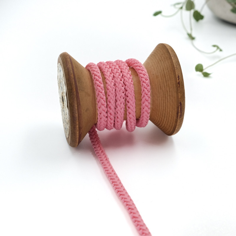 cordon-tricote-au-metre-cordon-rond-au-metre-lacet-au-metre-076-rose