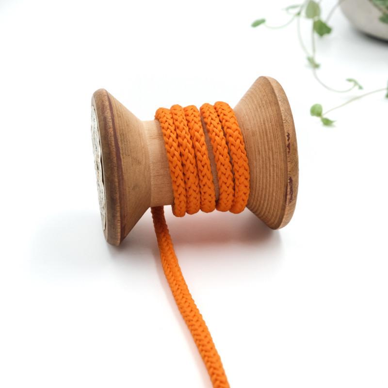 cordon-tricote-au-metre-cordon-rond-au-metre-lacet-au-metre-083-orange-citrouille