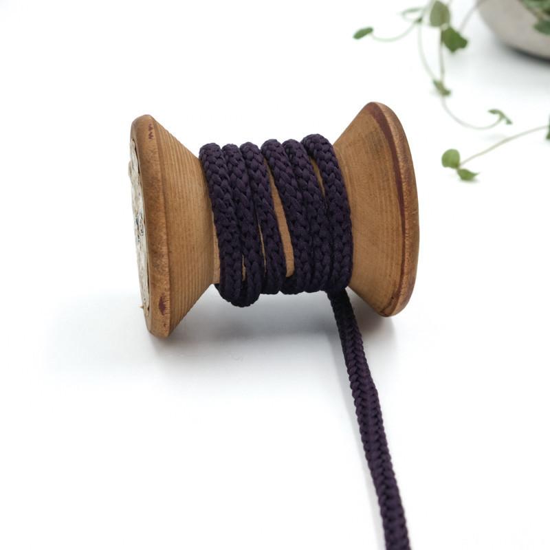 cordon-tricote-au-metre-cordon-rond-au-metre-lacet-au-metre-098-violet-fonce