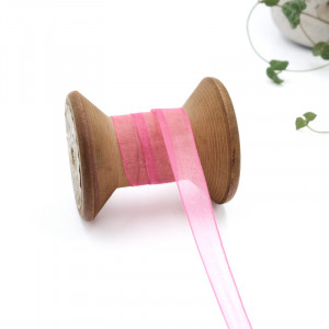 ruban-mousseline-organza-ruban-transparent-au-metre-073-rose