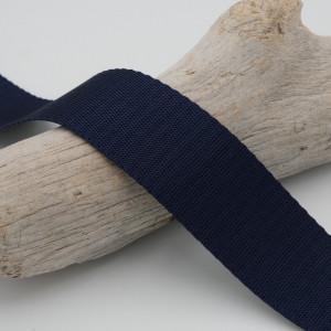 Sangle pour sac bleu marine  au mètre