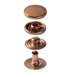 Boutons pression, cuivre- anorak - 15mm et outils de pose Prym