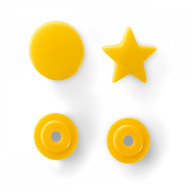 Bouton pression étoile jaune Color Snaps Prym