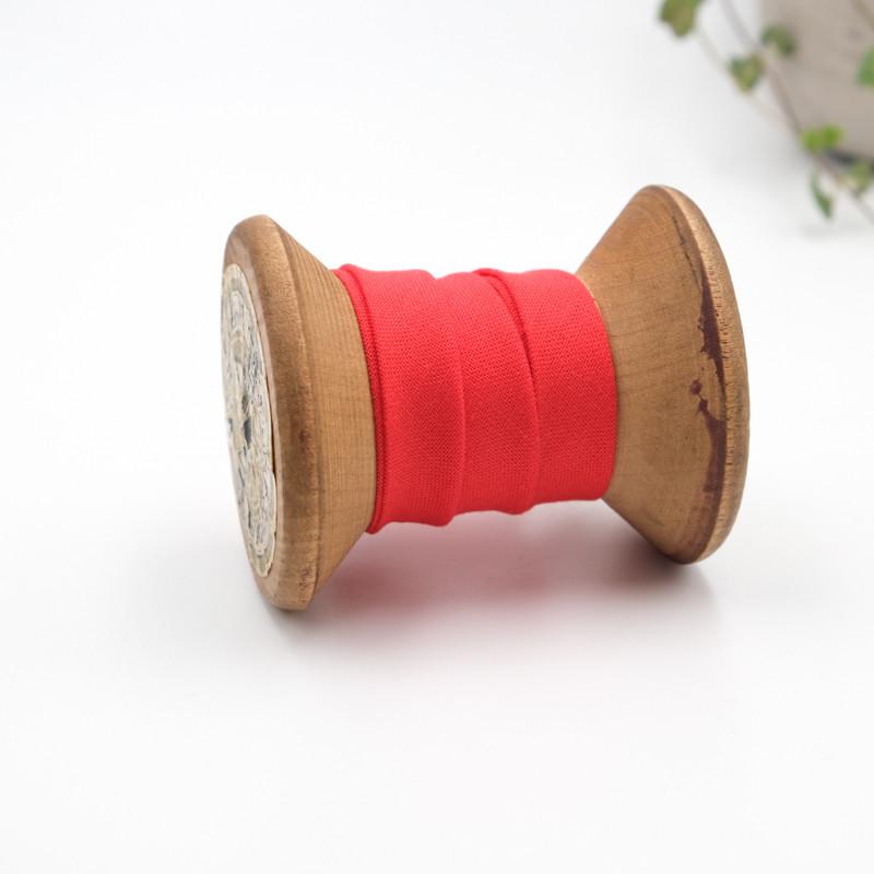 Biais coton Bio rouge x1m